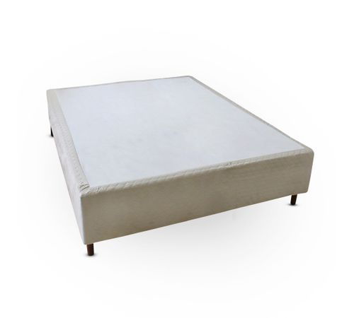Cama-box-Casal-Suede-Bege-Copel-Colchoes