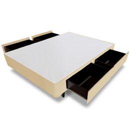 Cama-box-4-gavetas-MGA-Bege-copel-Colchoes