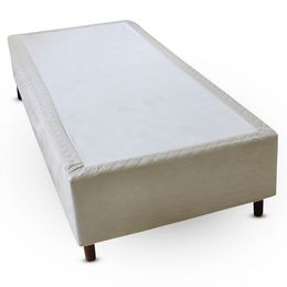 Cama-box-Solteiro-Suede-Bege-Copel-Colchoes