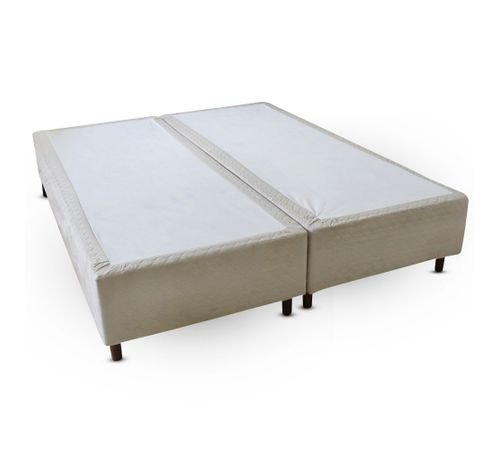 Cama-box-King-Size-Suede-Bege-Copel-Colchoes
