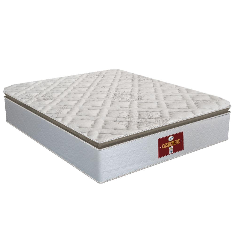 78efb66f1 Colchão Cashmere CASAL Pillow - 138x188 - Copel Colchões