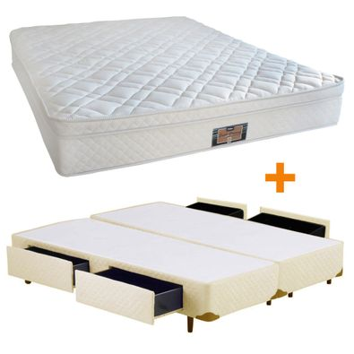 cama-box-bege-casal-bipartido-gaveta-colchao-super-support-copel-colchoes